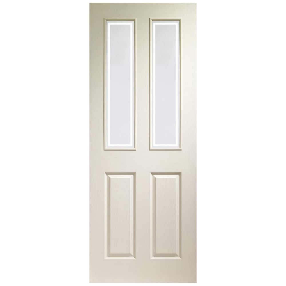 Xl joinery victorian white moulded door leader doors - White doors with glass internal ...
