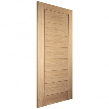 Internal White Oak Unfinished Oregon Cottage Horizontal Door (OAKHFL)