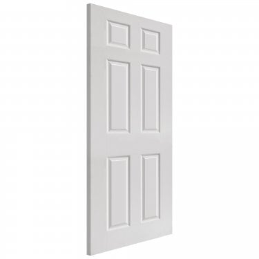 Internal White Primed 6 Panel Classic Smooth Colonist FD30 Fire Door (SMCOLHH)