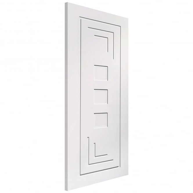 XL Joinery Internal White Primed Altino Door with Clear Glass