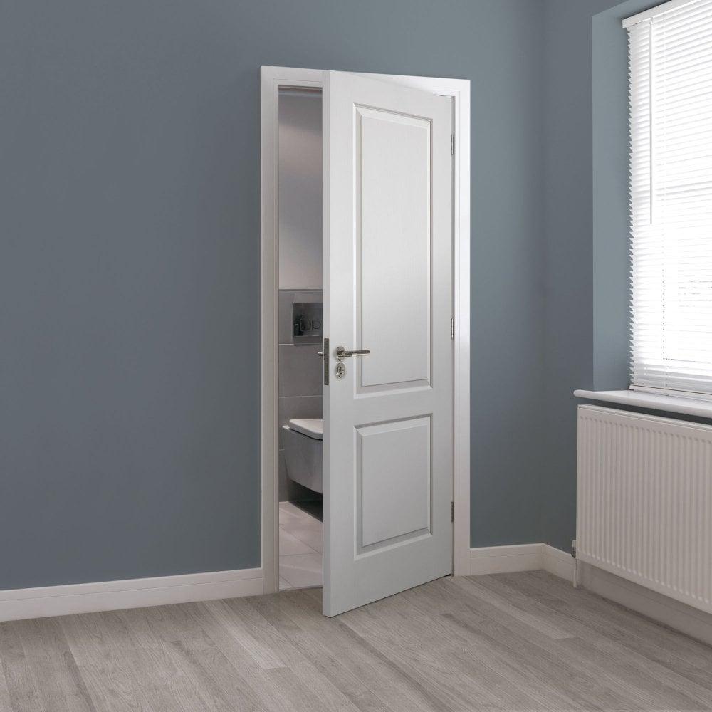 Internal White Primed Classic Caprice FD30 Fire Door (CAPFD30)
