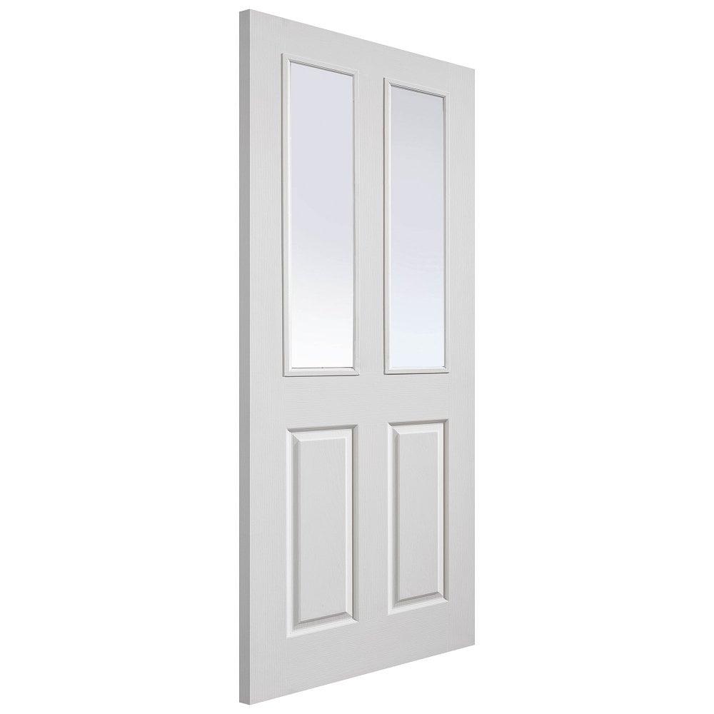 Jb Kind Internal White Primed Canterbury Glazed Door