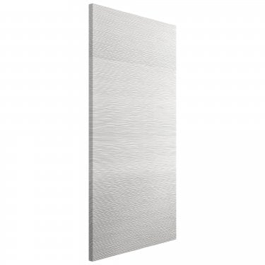Internal White Primed Contemporary Ripple Door (RIP)