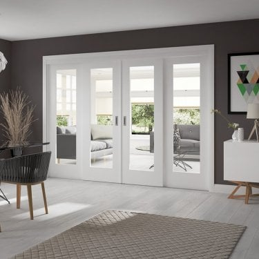 Internal White Primed Easi-Slide Frame