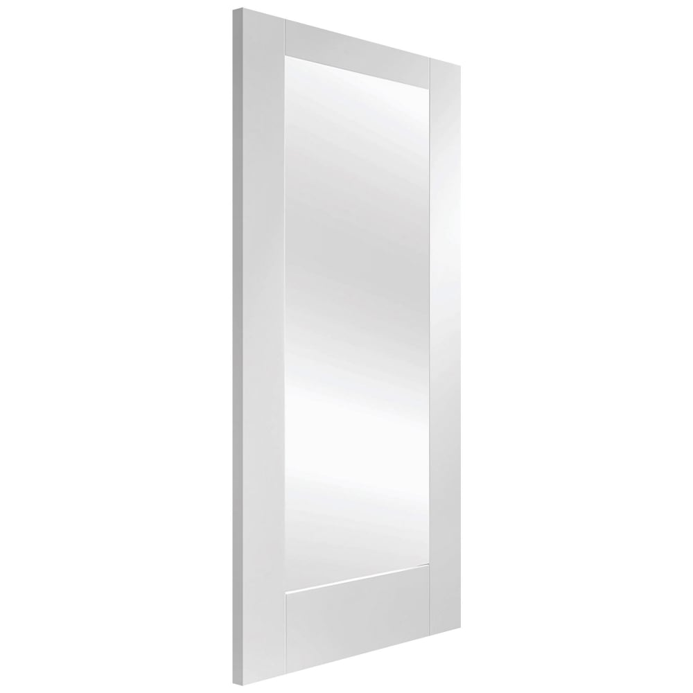 Xl joinery pattern 10 white primed clear glass internal door internal white primed pattern 10 door with clear glass planetlyrics Image collections