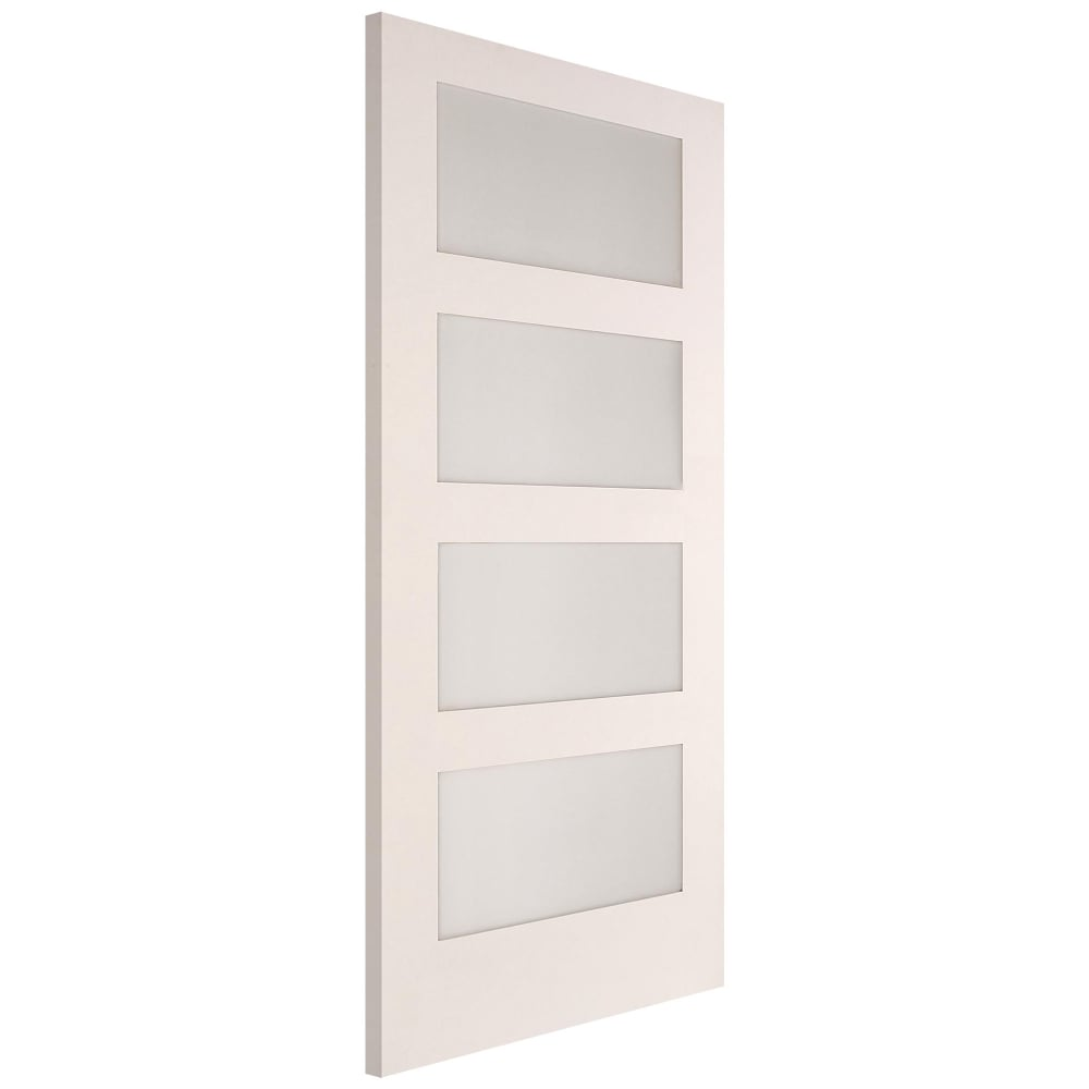 white shaker doors jeld wen white primed shaker glazed door leader 1058