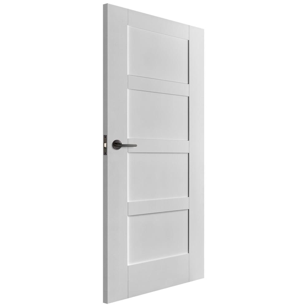 Liberty Internal White Primed Shaker Door Leader Doors