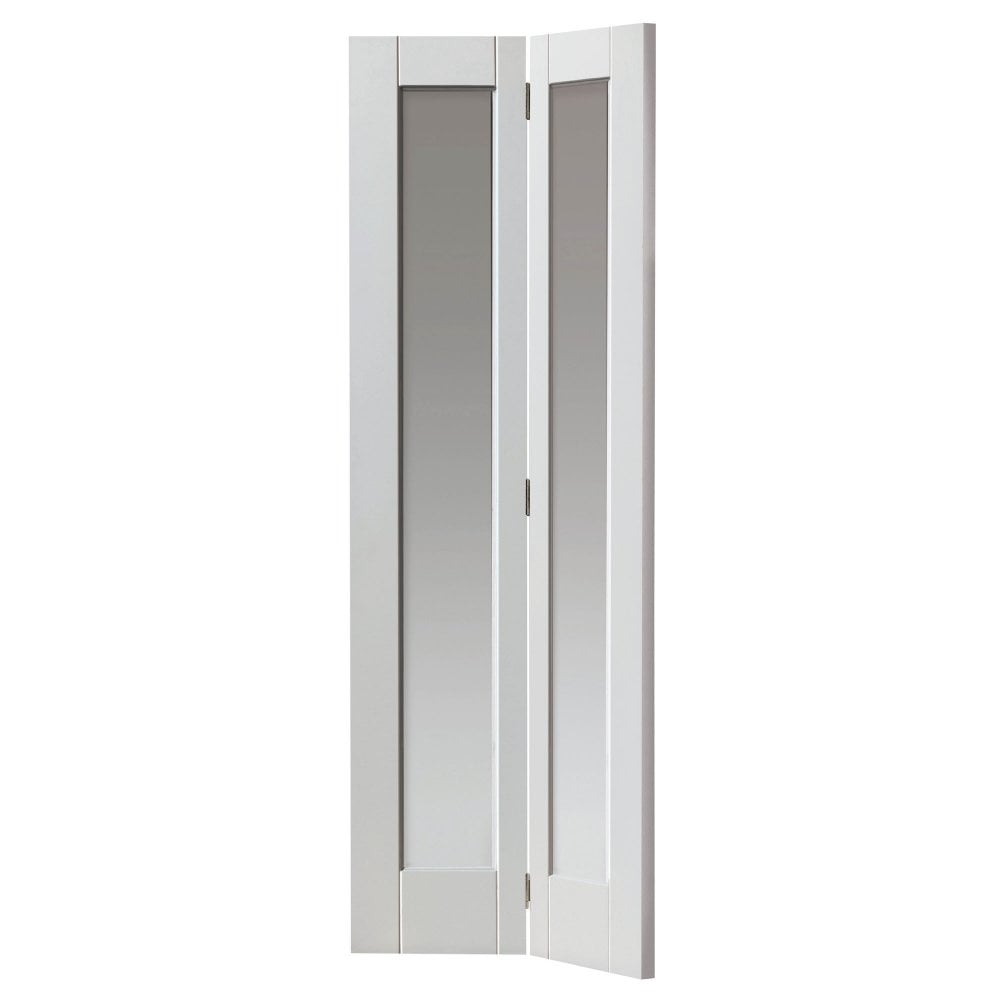 Jb Kind Internal White Primed Tobago Glazed Door Leader