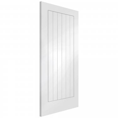 Internal White Primed Suffolk FD30 Fire Door (WPSUF-FD)