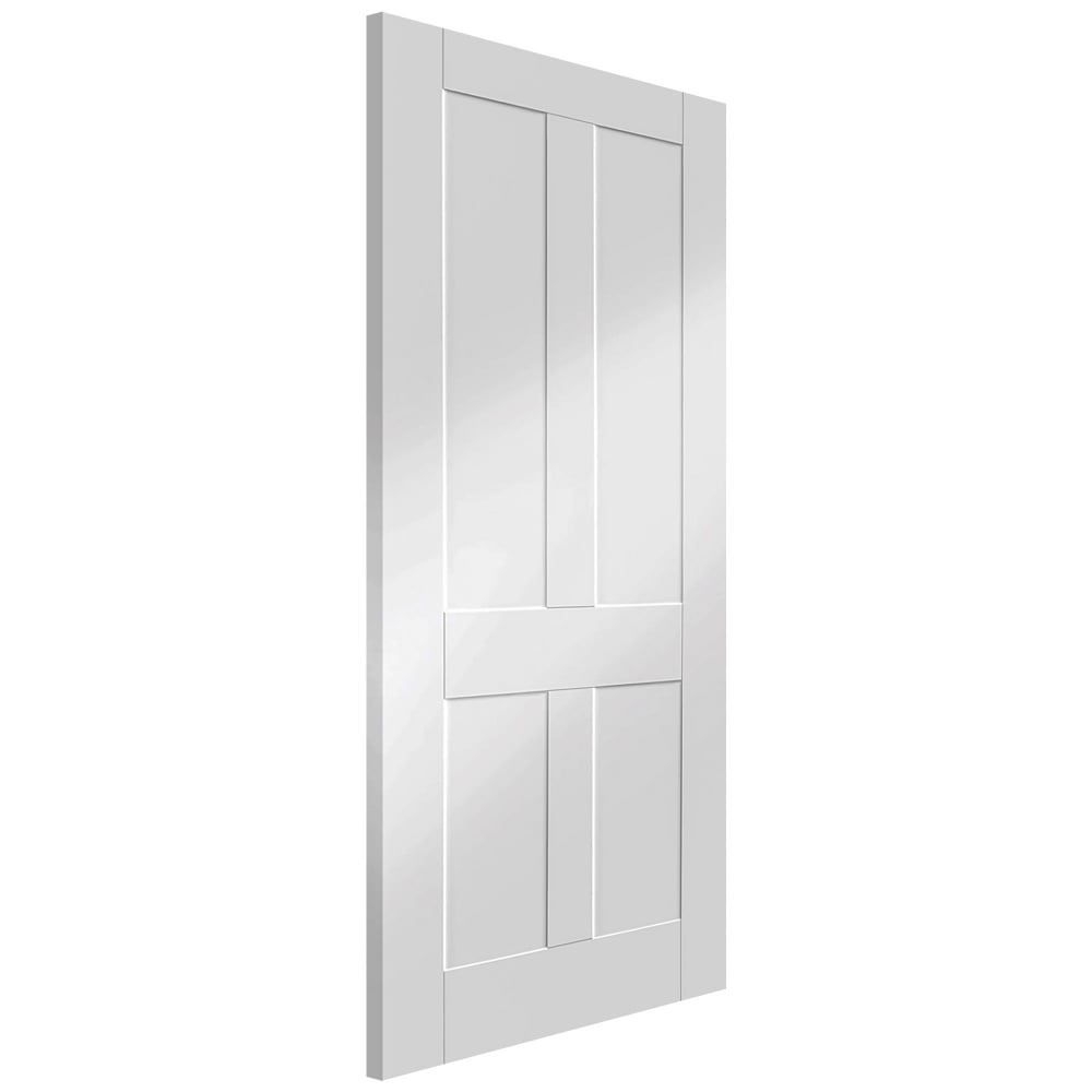 Xl Joinery Internal White Primed Victorian Shaker Door Leader Doors