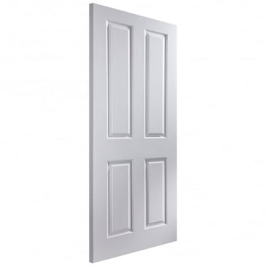 Internal White Primed Woodgrain Oakfield 44mm FD30 Fire Door (OFDF)