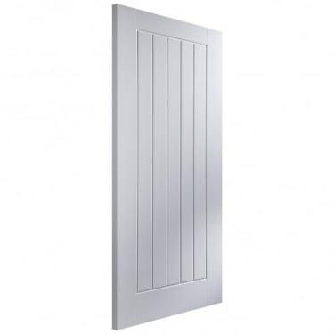 Internal White Unfinished Woodgrain Newark Middleweight Door (NEWASL)