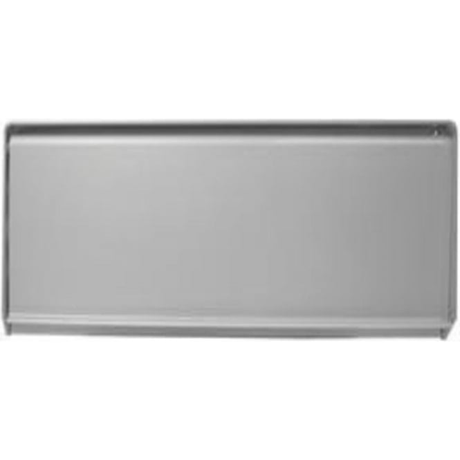 Frelan Hardware J1400 Satin Anodised Aluminium External Face Fix Letterplate