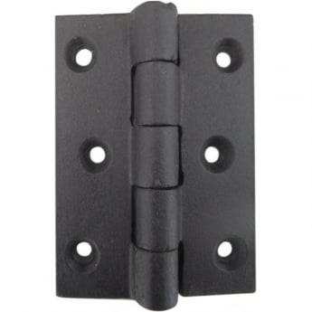 Frelan Hardware JAB10 Antique Black Butt Hinge