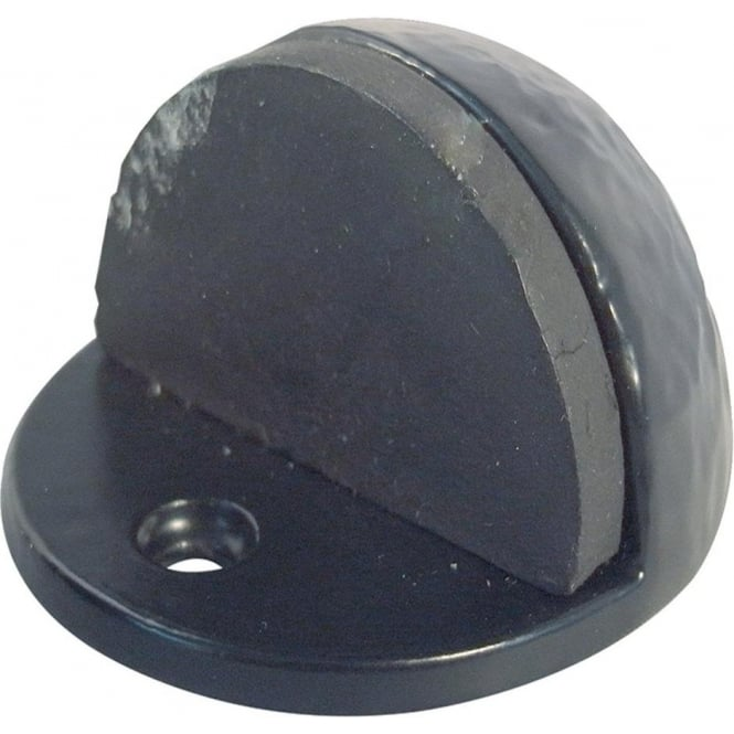 JAB186 Antique Black Floor Mounted Door Stop