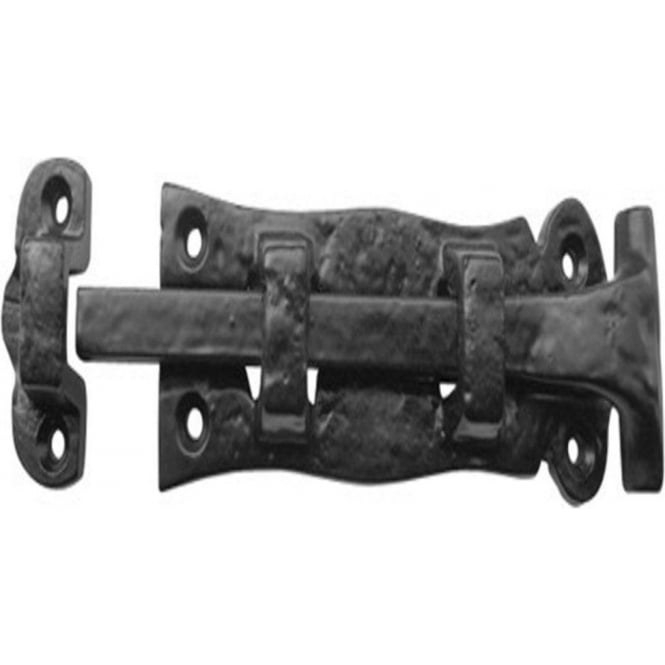 Frelan Hardware JAB39 Antique Black 125mm Straight Bolt