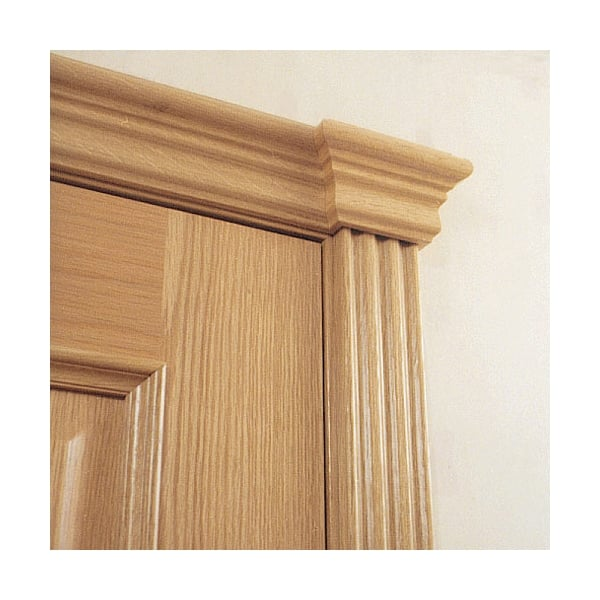 Jb Kind 1100mm Oak Veneered Sovereign Set At Leader Doors