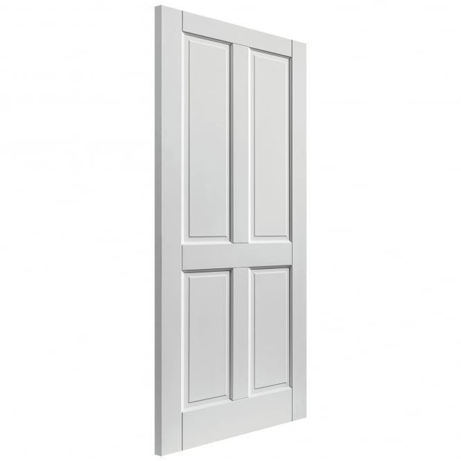 JB Kind Doors External Fully Finished White Colonial 4P Extreme Door
