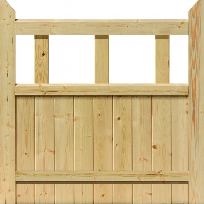 External Softwood Boarded Gate