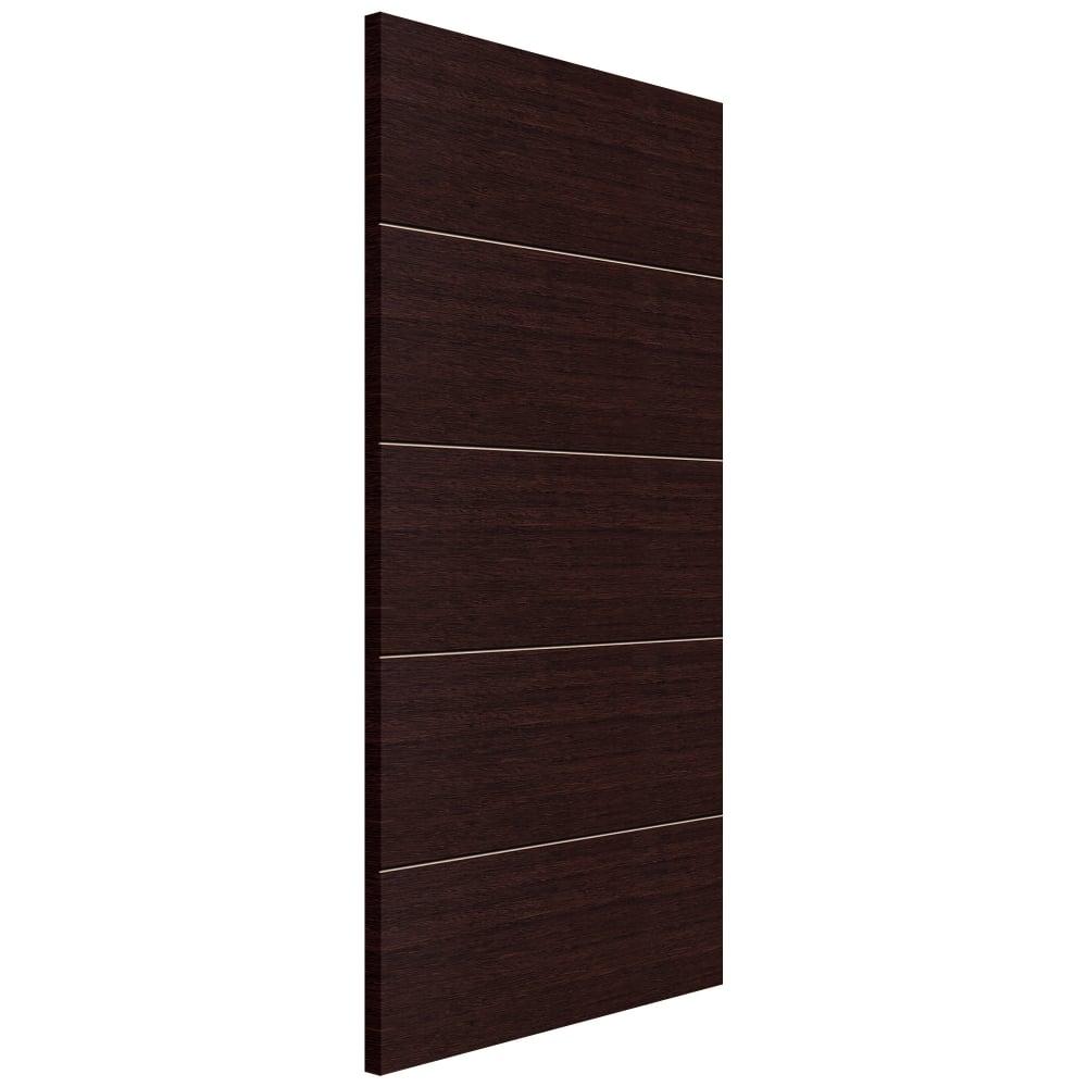 Jb Kind Eco Wenge Fully Finished Panelled Internal Door