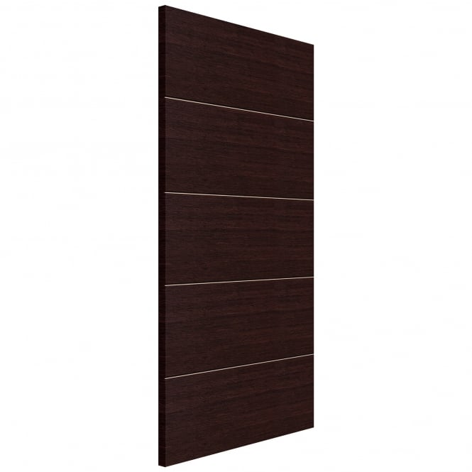 Jb Kind Eco Wenge Fully Finished Panelled Internal Door