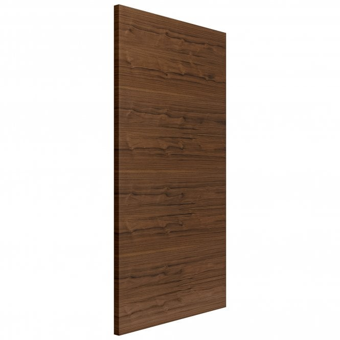 JB Kind Doors Internal Fully Finished Flush Walnut Fernor FD30 Fire Door