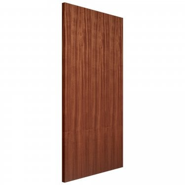 Internal Fully Finished Veneered Sapele Flush FD30 Fire Door