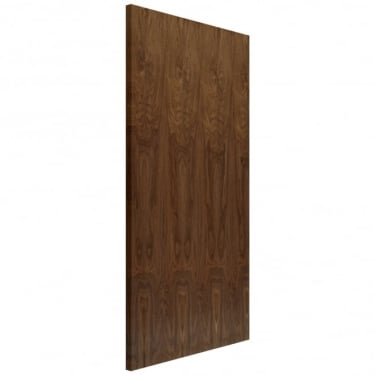 JB Kind Doors Internal Fully Finished Veneered Walnut Flush Hollow Core Door