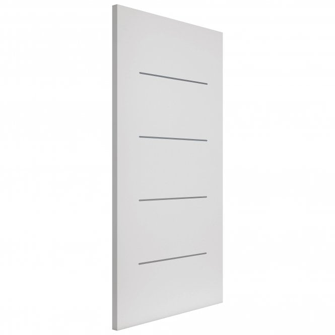 JB Kind Doors Internal Fully Finished White Eco Blanco FD30 Fire Door