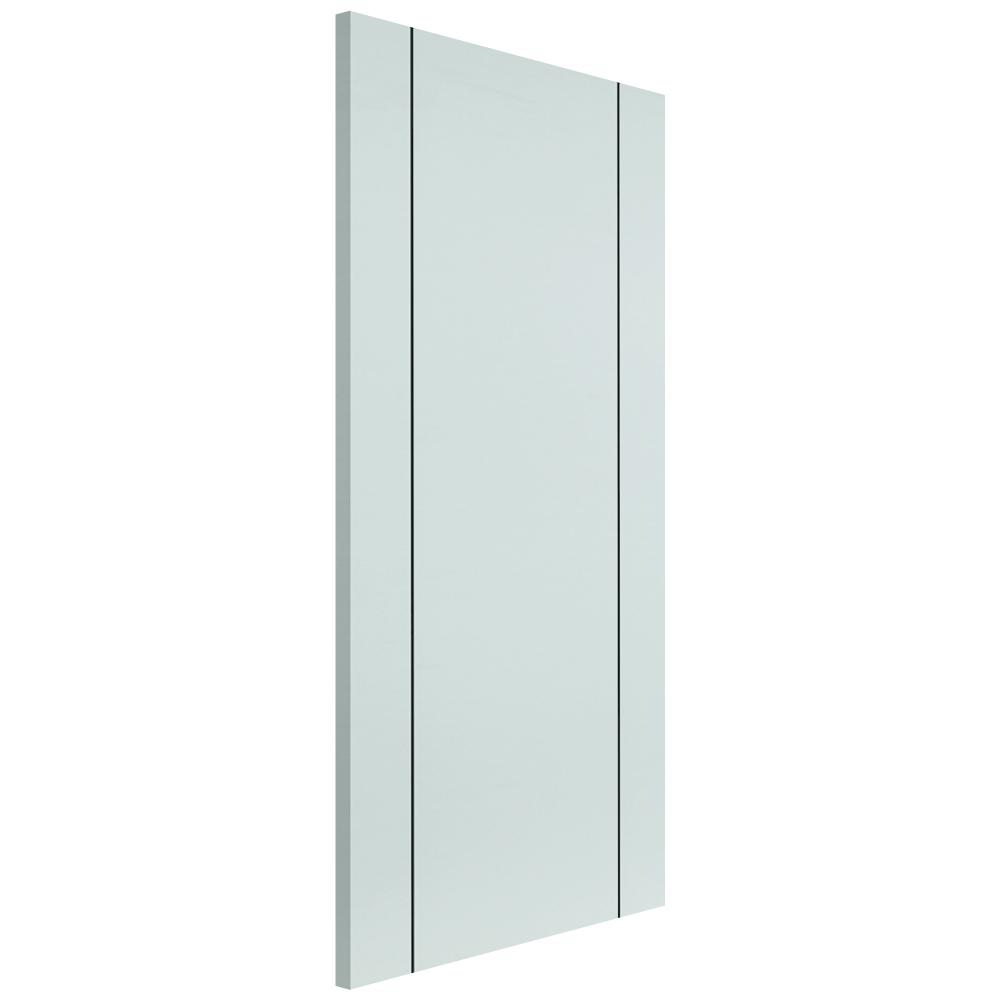 Jb kind eco parelo white primed panelled internal door for Eco doors