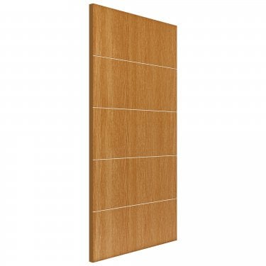 JB Kind Doors Internal Painted Gallery Oak Tate FD30 Fire Door