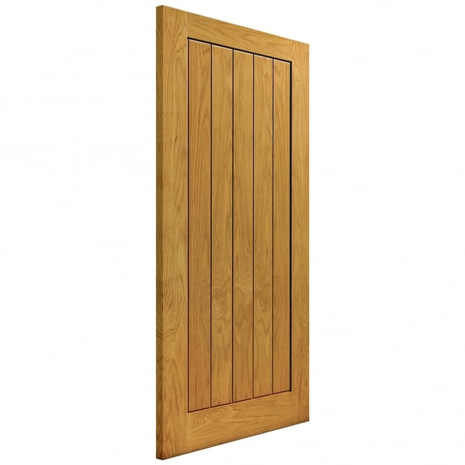 JB Kind Doors Internal Un-Finished River Cottage Oak Thames II FD30 Fire Door