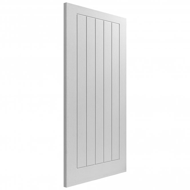 JB Kind Doors Internal White Moulded Cottage 5 Door