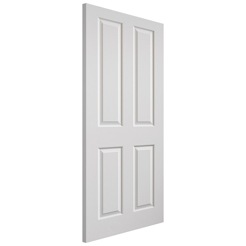 JB Kind Canterbury White Moulded Panelled FD30 Grained Internal Fire Door   Leader Doors  sc 1 st  Leader Doors & JB Kind Canterbury White Moulded Panelled FD30 Grained Internal Fire ...