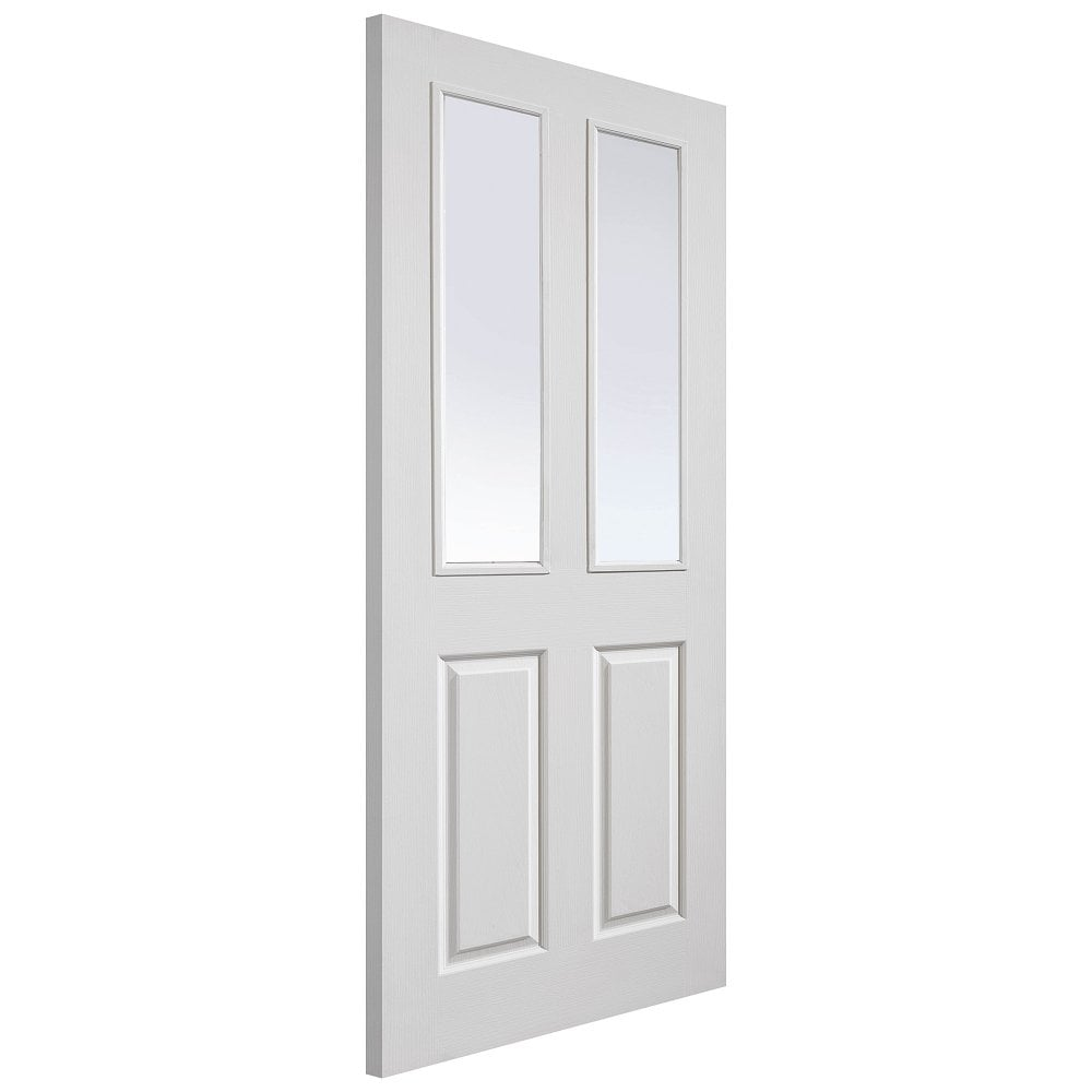 Jb Kind Doors Internal White Primed Classic Grained