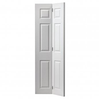 Internal White Moulded Grained Colonist Bi-Fold Door  sc 1 st  Leader Doors & JB Kind Colonist White Moulded Panelled FD30 Smooth Internal Fire ... pezcame.com