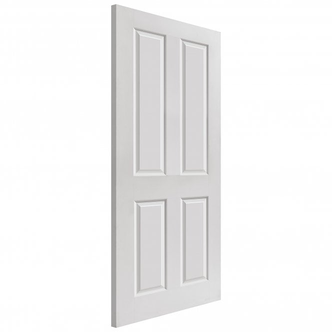 JB Kind Doors Internal White Moulded Smooth Canterbury FD30 Fire Door