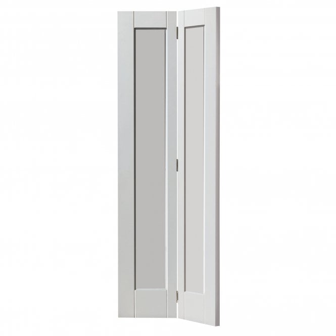 Internal White Primed Calypso Antigua Bi-Fold Door