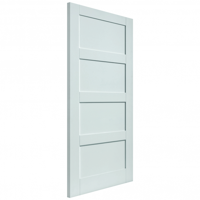JB Kind Doors Internal White Primed Calypso Montserrat FD30 Fire Door