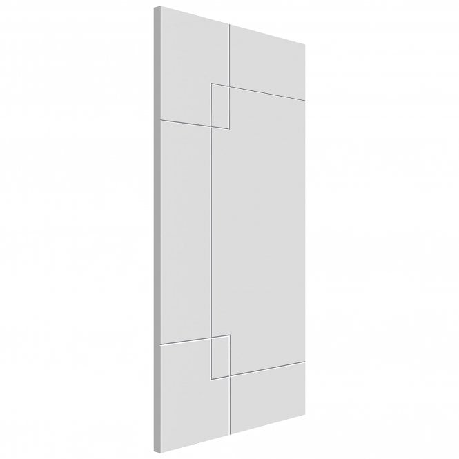 JB Kind Doors Internal White Primed Limelight Fortune FD30 Fire Door