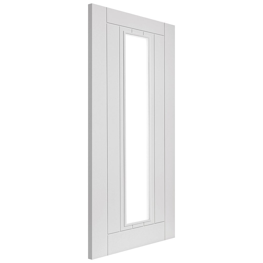 Jb kind limelight phoenix white primed clear glass - White doors with glass internal ...