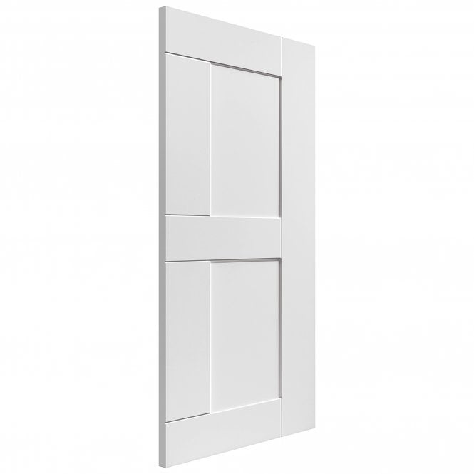 JB Kind Doors Internal White Primed Symmetry Eccentro FD30 Fire Door