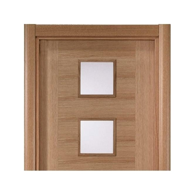 Oak Veneered Modern Architrave Set (OCLRA70)  sc 1 st  Leader Doors & JB Kind Oak Veneered Modern Architrave Set At Leader Doors