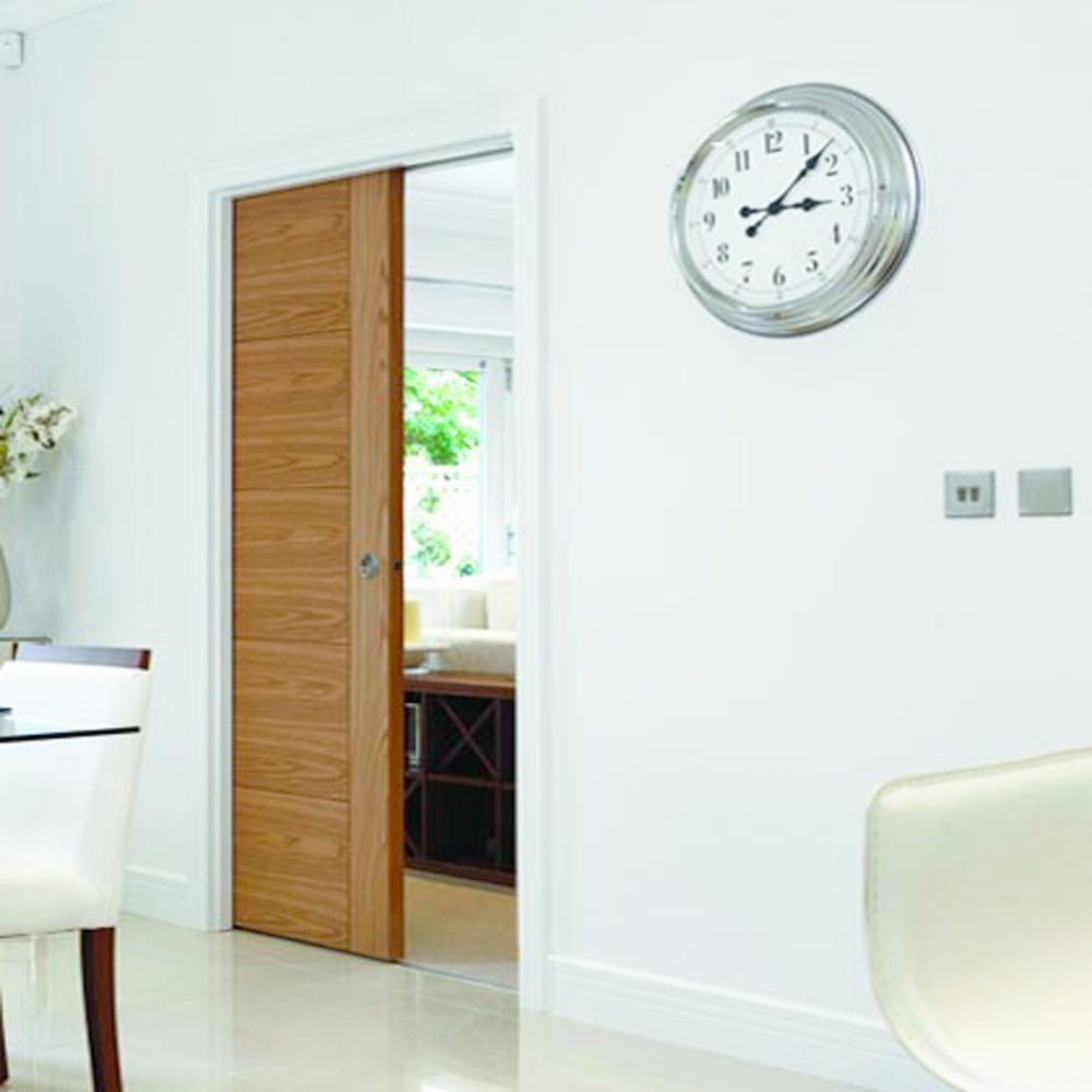 Single Sliding Pocket Door System & JB Kind Single Pocket Door System - Leader Stores