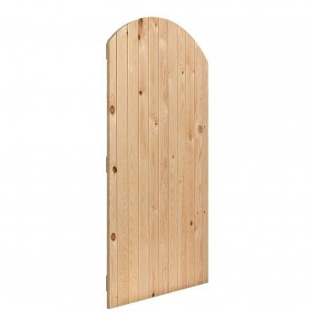 JB Kind External Softwood Boarded Oxford Arched Gate