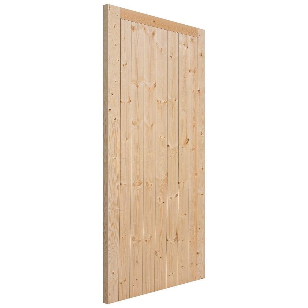 External Softwood Unfinished Framed Ledged u0026&; Braced Gate  sc 1 st  Leader Doors & JB Kind External Softwood Unfinished Gate | Leader Doors