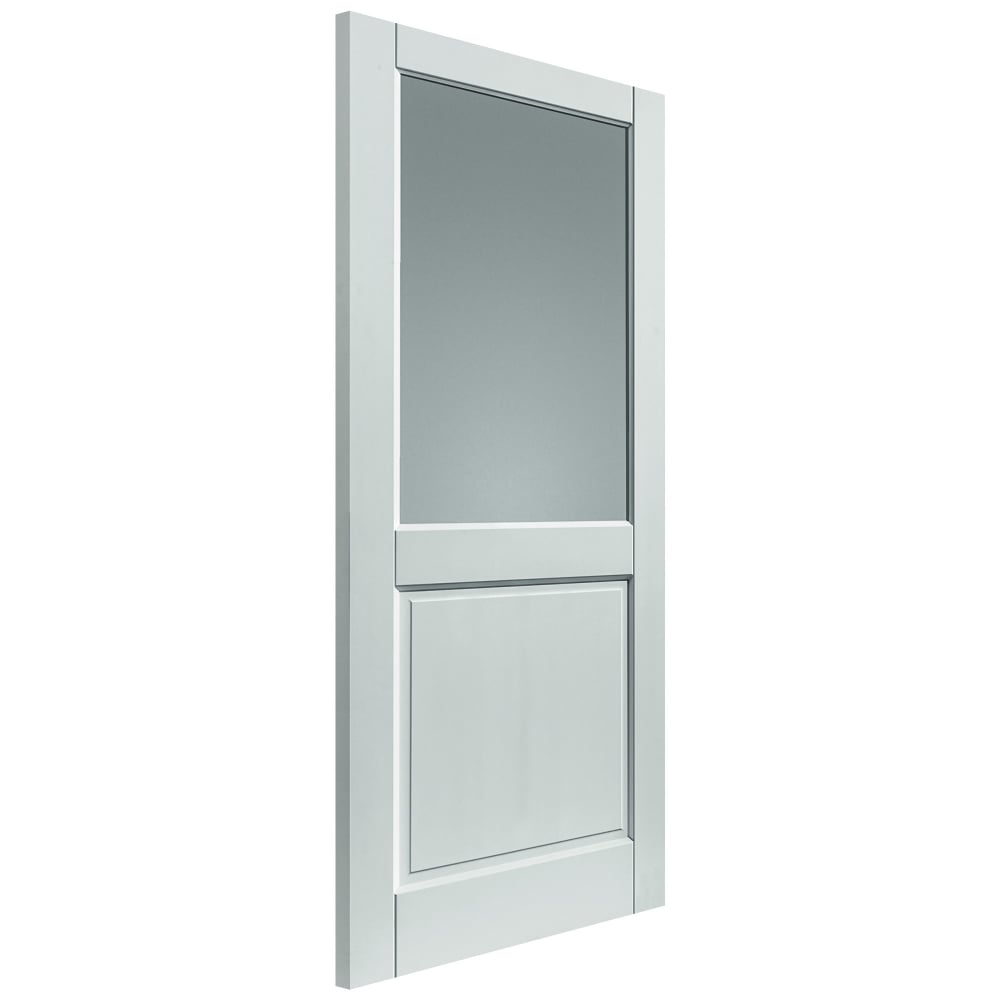 External White Fully Finished Extreme 2XG 1L Door with Double Glazed Flat Pilkington Clear Glass  sc 1 st  Leader Doors & JB Kind External White Pre-Finished 2XG Glazed Door | Leader Doors
