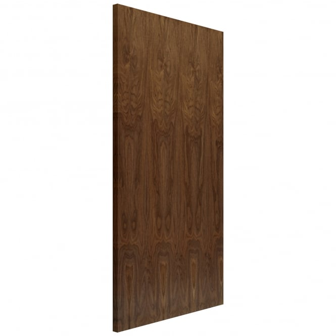 Internal Fully Finished Veneered Walnut Flush Hollow Core Door