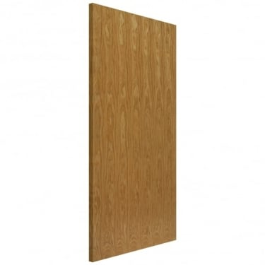 Internal Oak Fully Finished Flush FD30 Fire Door