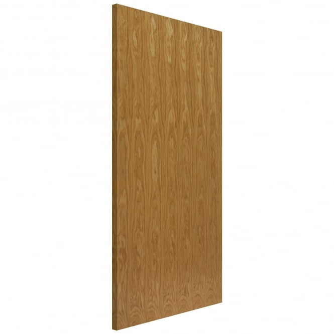 JB Kind Internal Oak Fully Finished Flush FD60 Fire Door